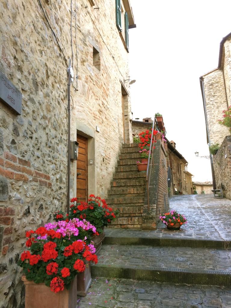 Streets of Montone