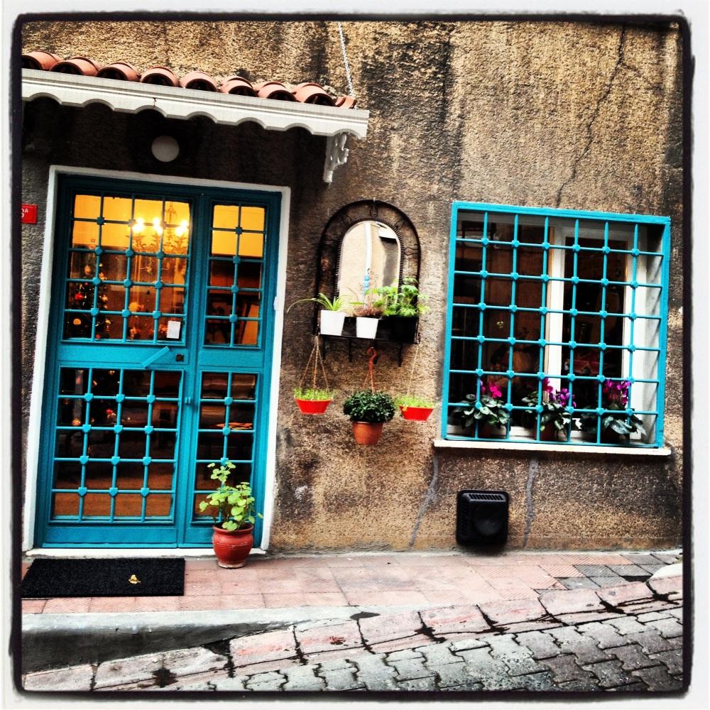 Vintage store in Taksim