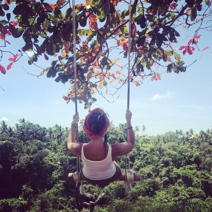 Swing at the Campuhan Ridge Walk