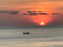 Sunset in Uluwatu