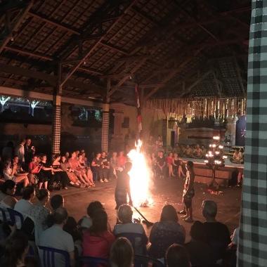 Kecak, traditional Balinese dance show