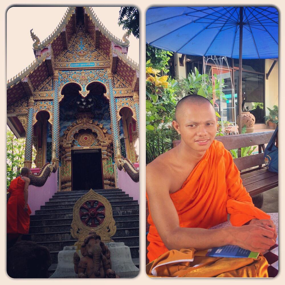 Monk chats