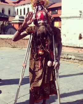 A Baba in Pashupatinath