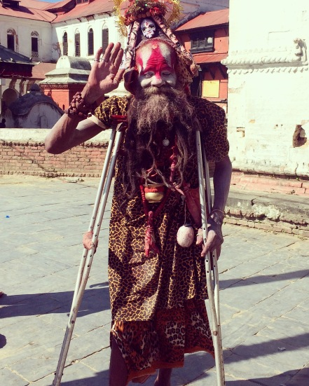 A Baba in Pashupatinath