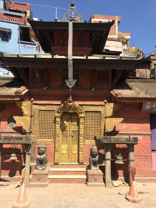 Beautiful little temples like this were everywhere in Thamel, Kathmandu
