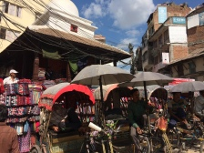 Tuk tuks in Thamel were the easiest and cheapest way to travel within the city