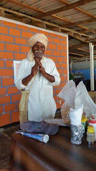Our daily nut provider in Kudle Beach