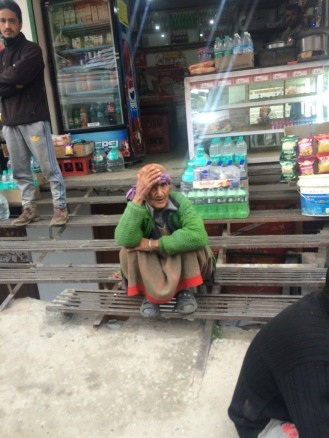A local lady in Vashist