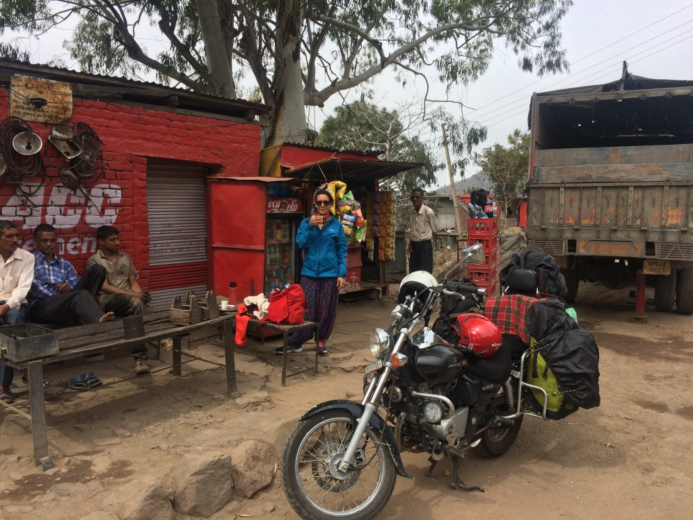 Our one of many chai stops