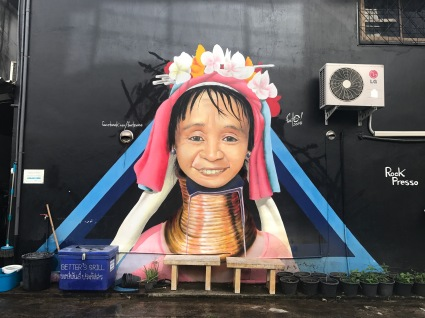 Street art in Chiang Mai