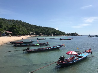 First view of Ko Tao