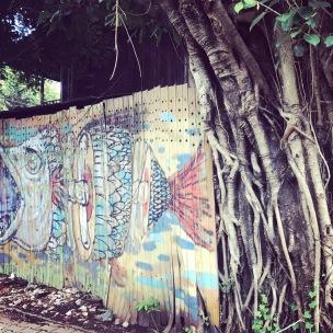 Street art on Chiang Mai streets
