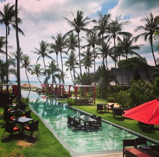 Kupu Kupu Resort is awesome for a pool day!