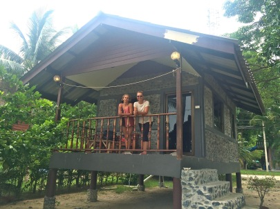 My bungalow on Hin Kong Beach