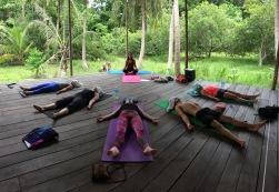 Yoga TTC course at Samma Karuna