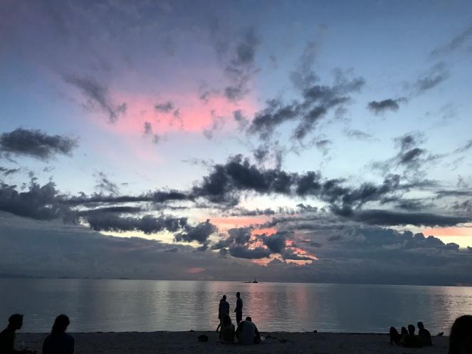Sunset at Zen Beach
