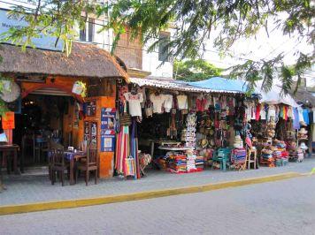 Tulum town