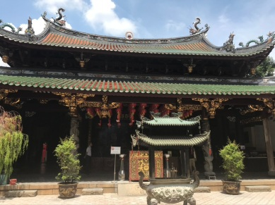 A Buddhist Temple in Chinatown
