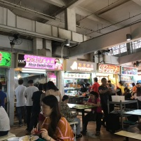 A typical hawker center