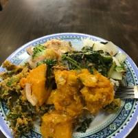 My $4 street vegetarian dish