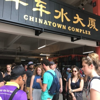 Walking tour of Chinatown