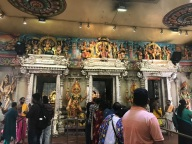 A Hindu temple in Little India
