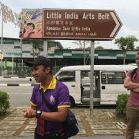 Walking tour of Little India